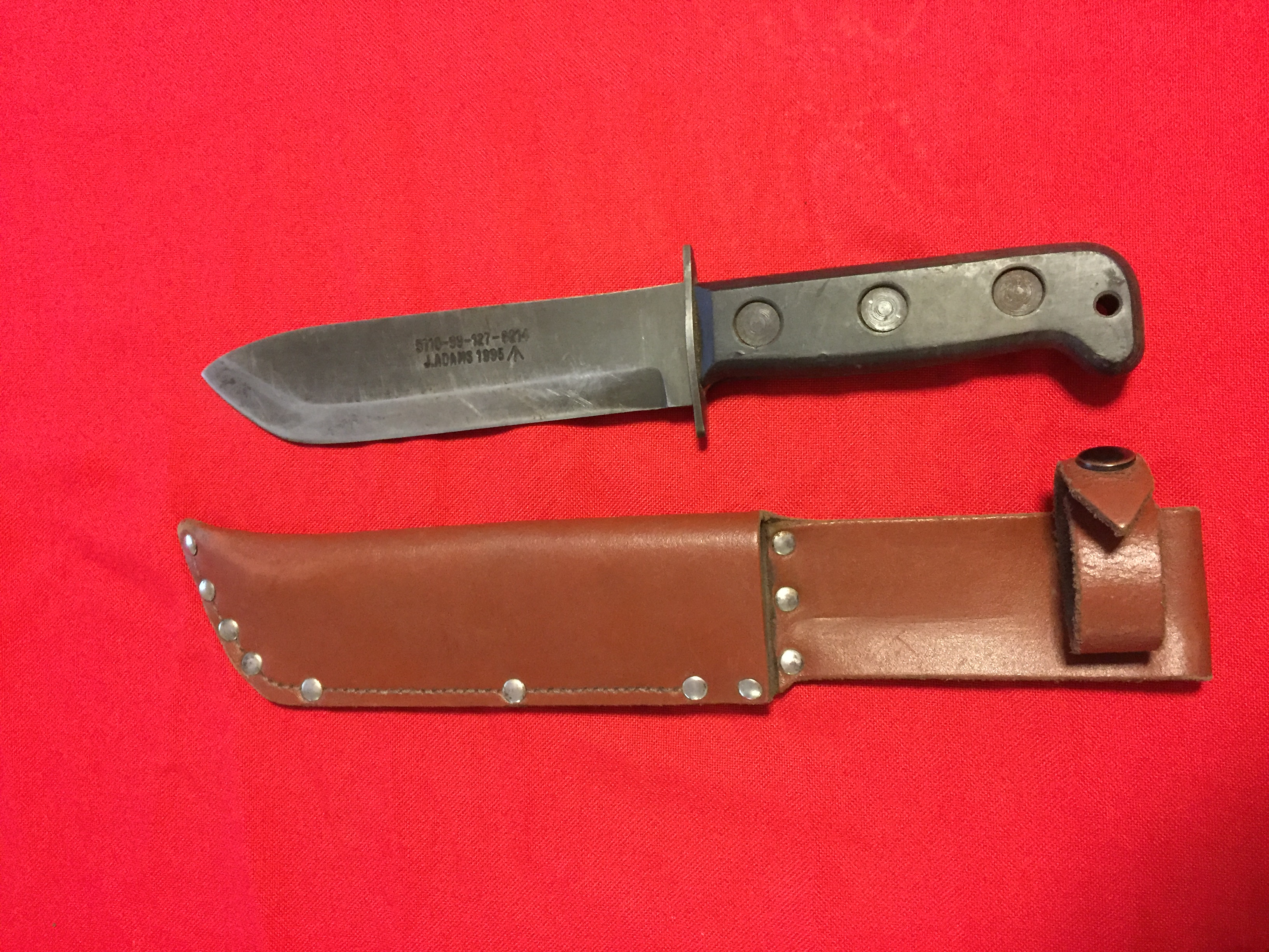 Mod Survival Knife Nomadic Steel